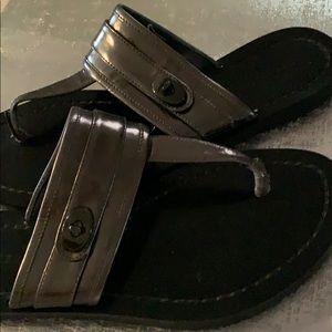 Coach size 7.5 B sandals.